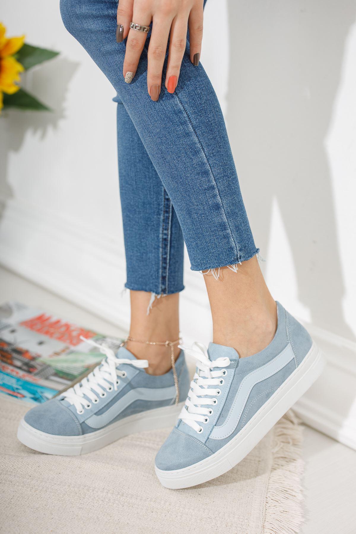 Bebe Mavi Günlük Spor Ayakkabı